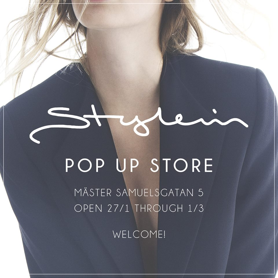 Stylein Pop Up Store AD