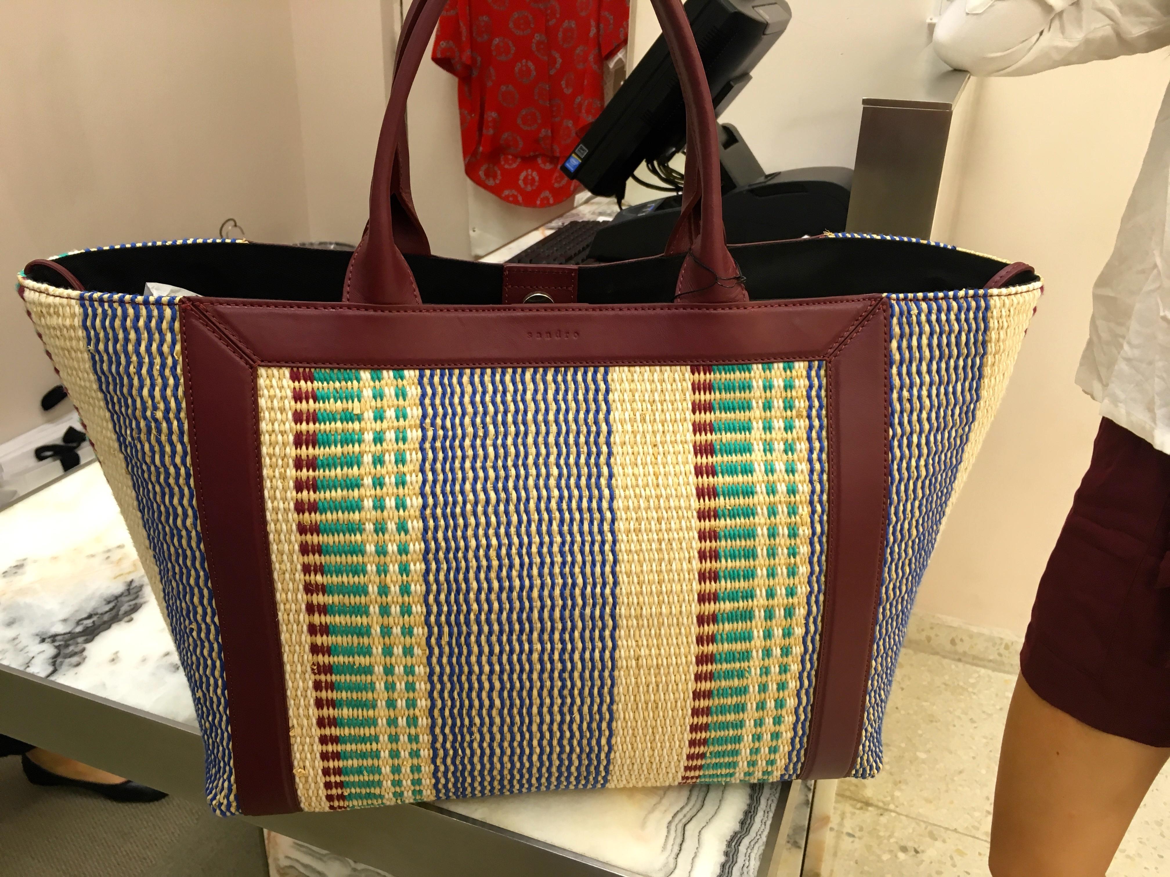New in: bag from sandro – michaela forni