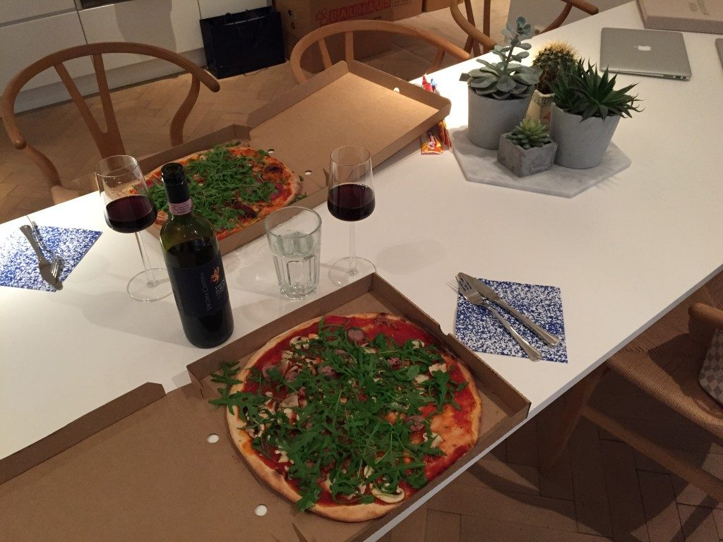Michaela Forni pizza