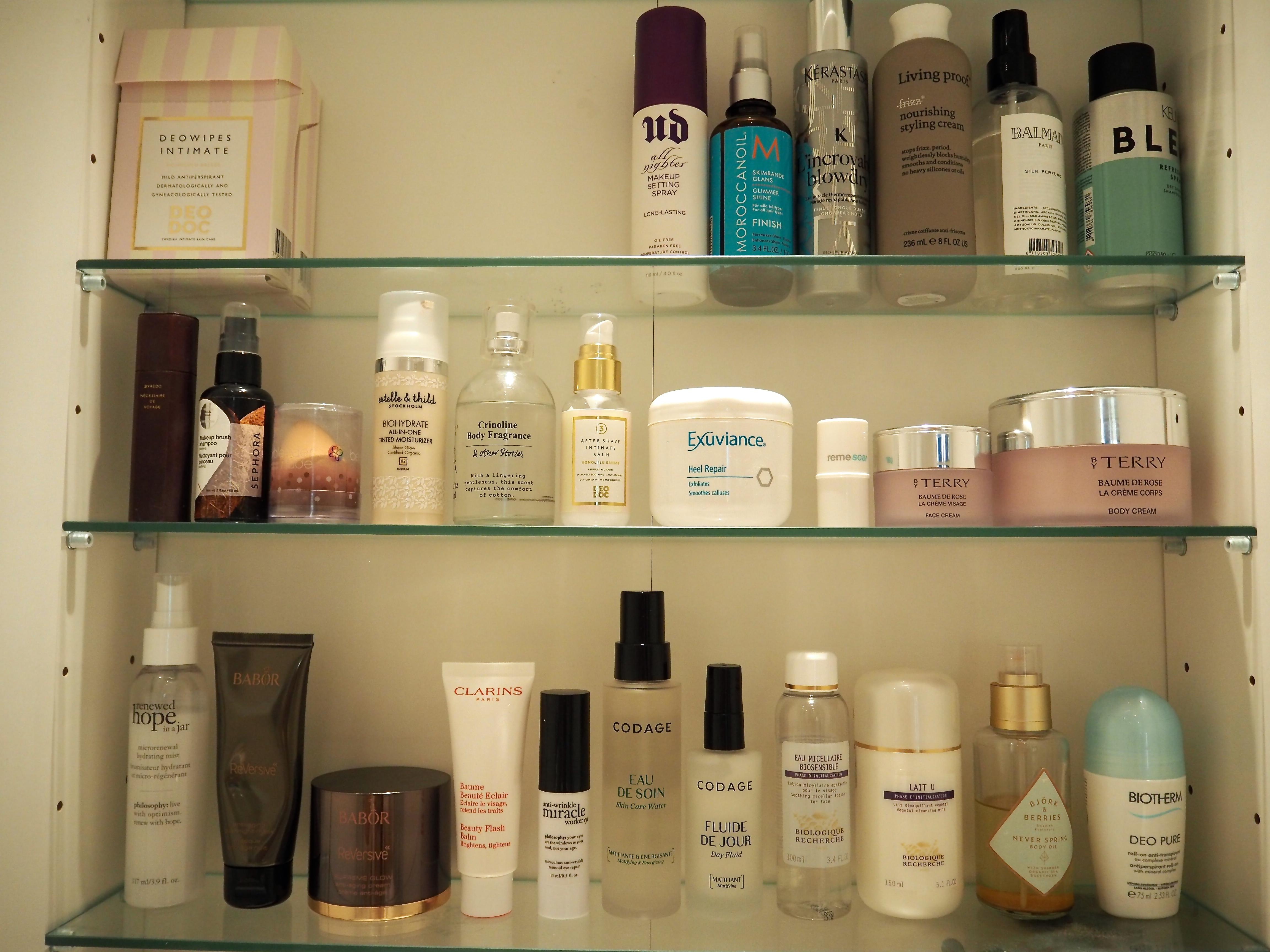 I mitt badrumsskåp Michaela Forni