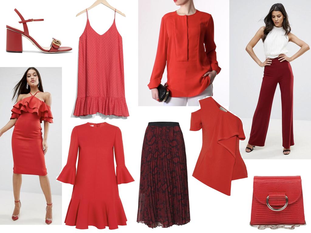 Höstens stora trend  rött - Michaela Forni 271f9486069fe