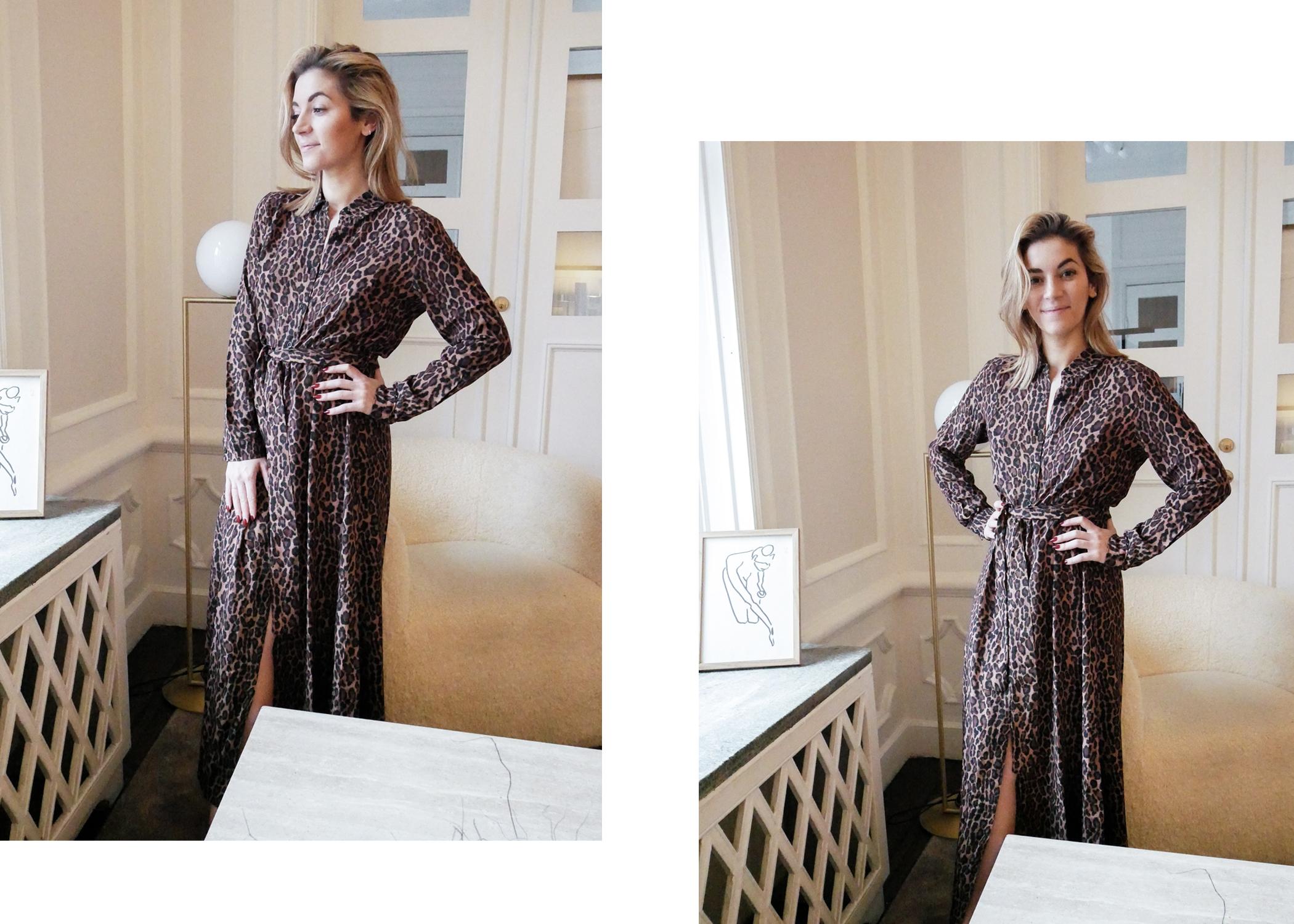 Den här klänningen är också en riktig vinnare. Så mjuk och behöver inte  strykas utan kan bara slängas på direkt. Leopard är ju ett mönster som  håller i sig ... 71fa8b937421b