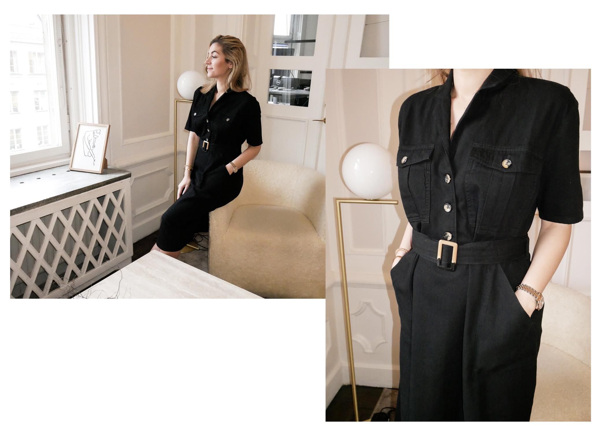 Först ut är den här (klick!) svarta klänningen med detaljer. Sjukt skön och  jag tänkte att jag kan styla den på två sätt när det fortfarande är kallt   ... 3b01043e0aaed